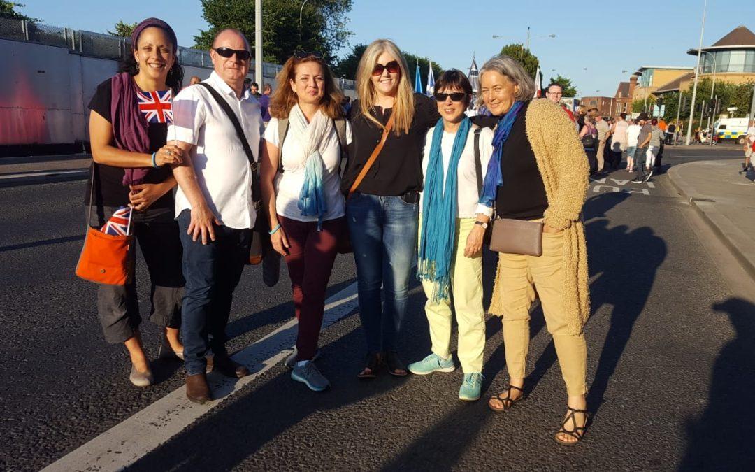 Women Wage Peace Ireland Delegation, Nitzan Senior